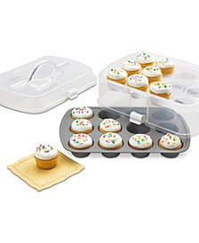 2-Tier Cupcake Carrier, Created for Macy's