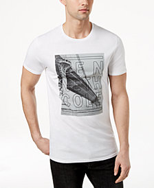 Kenneth Cole Men's Bridge Logo-Print T-Shirt
