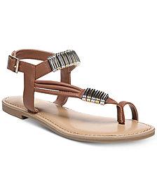 Bar III Vera Flat Sandals, Created for Macy's