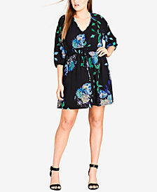 City Chic Trendy Plus Size A-Line Dress