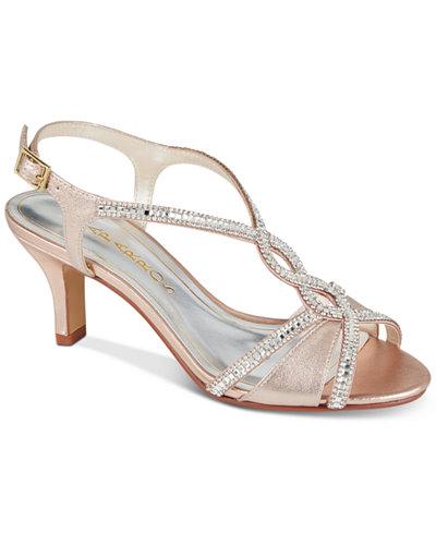 Caparros Lilly Embellished Evening Sandals