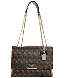 GUESS Ryann Signature Chain Shoulder Bag