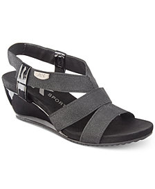 Anne Klein Sport Cabrini Wedge Sandals