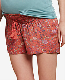 Jessica Simpson Maternity Smocked Shorts