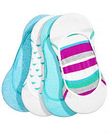 HUE® Women's  4-Pk. Low-Cut Liner Socks