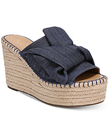 Franco Sarto Talinda 2 Platform Espadrille Wedge Sandals