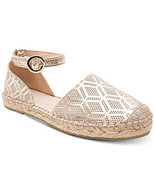 Andre Assous Ingrid Perforated Espadrille Flats