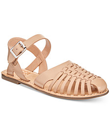 Lucca Lane Hope Woven Flat Sandals