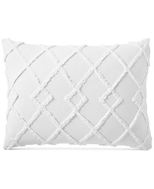 Lucky Brand Diamond Tuft Standard Sham, Created for Macy's