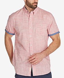 Weatherproof Vintage Men's Textured Cotton Shirt