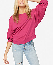 Sanctuary Cotton Dolman-Sleeve Sweatshirt
