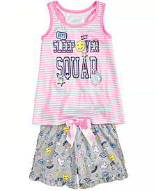 Max & Olivia 2-Pc. Snooze Pajama Set, Little Girls & Big Girls