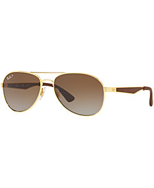 Ray-Ban Polarized Sunglasses, RB3549 61