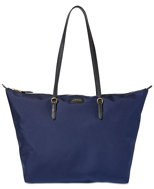 Lauren Ralph Lauren Chadwick Tote   Reviews - Handbags   Accessories ... dfa7cac9cf051