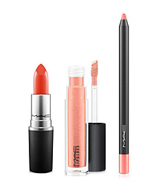 MAC 3-Pc. Coral Lip Kit, Created for Macy's by Romero Jennings, Online Only