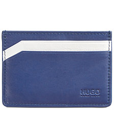 Hugo Boss Men's Leather Subway Card Holder