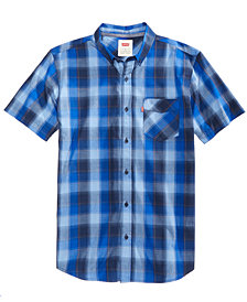 Levi's® Men's Vernon Slim-Fit Plaid Shirt