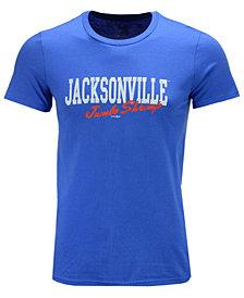 Retro Brand Men's Jacksonville Jumbo Shrimp Victory Logo T-Shirt