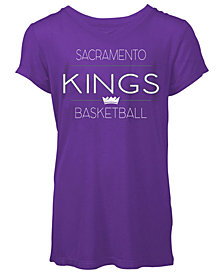5th & Ocean Women's Sacramento Kings Skinny Font T-Shirt