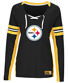 Majestic Women's Pittsburgh Steelers Winning Style Long Sleeve T-Shirt
