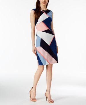 Vince Camuto Printed Sheath Dress 5905087
