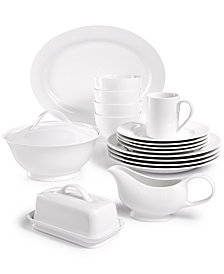 Martha Stewart Collection Whiteware Dinnerware Collection