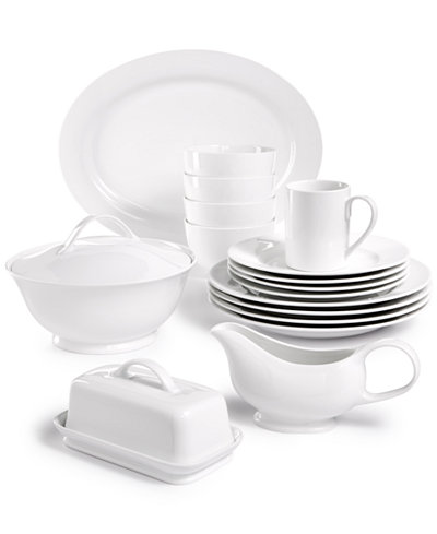 Martha Stewart Collection Whiteware Serveware Collection