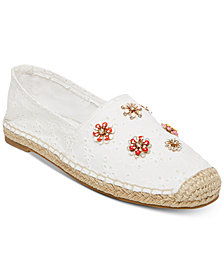 Madden Girl Ellis Beaded Espadrille Flats