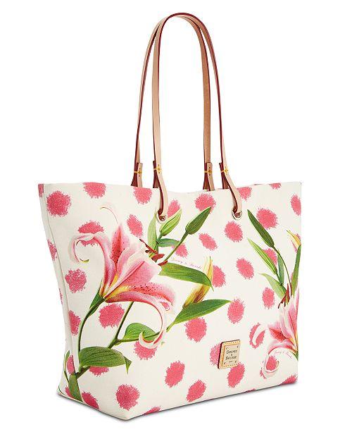 d4e1fea470a5 Dooney & Bourke Addison Flower Medium Tote & Reviews - Handbags ...
