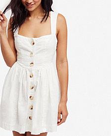Free People Carolina Fit & Flare Mini Dress