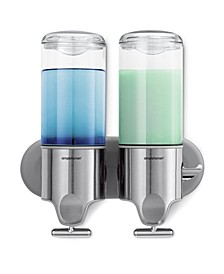 Bath Accessories, Twin Shampoo and Soap Dispenser