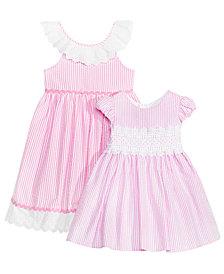 Rare Editions Sister Seersucker Dresses, Baby, Toddler & Little Girls