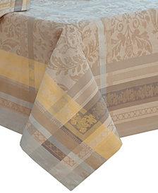 "Villeroy & Boch Promenade Jacquard 68"" x 126"" Tablecloth"