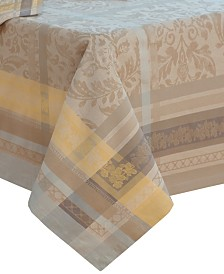 "Villeroy & Boch Promenade Jacquard 63"" x 96"" Tablecloth"