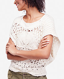 Free People Diamond In The Rough Knit Sweater
