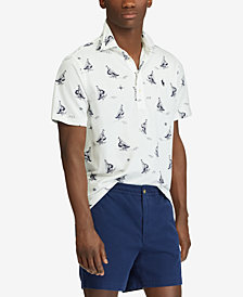 Polo Ralph Lauren Men's Classic Fit Knit Oxford Shirt