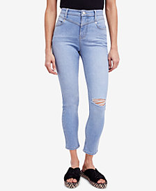 Free People Mara Ankle Skinny Jeans