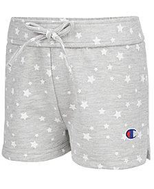 Champion Star-Print Shorts, Little Girls