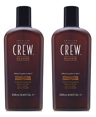 American Crew Stimulating Conditioner Duo (Two Items), 8.45-oz., from PUREBEAUTY Salon & Spa