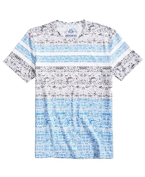 Men's Engineered Striped T-Shirt, Created for Macy's