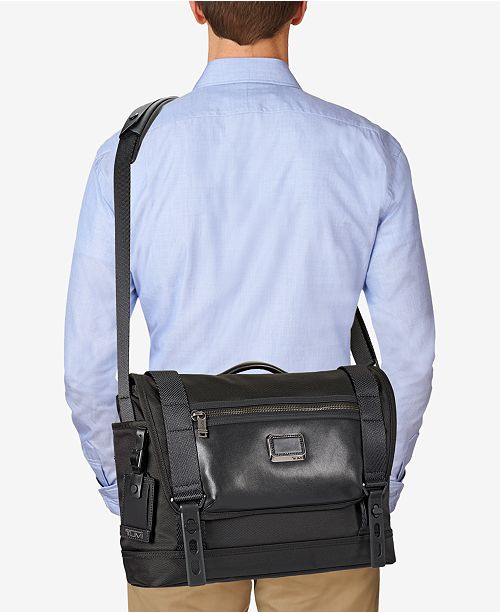Tumi Men's Alpha Bravo Fallon Messenger Bag & Reviews