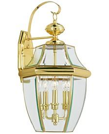 Monterey 3-Light Outdoor Lantern