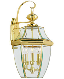 Livex Monterey 3-Light Outdoor Lantern
