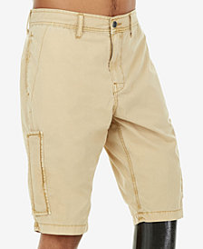 True Religion Men's Mojave Brown Cargo Shorts