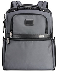Tumi Men's Alpha Slim Solutions Backpack