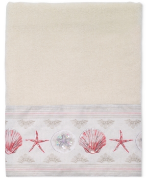 Avanti Coronado Cotton GraphicPrint Beaded Bath Towel Bedding