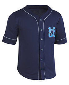 Under Armour Homerun Baseball Jersey T-Shirt, Little Boys