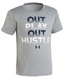 Under Armour Out Hustle-Print T-Shirt, Little Boys