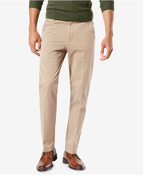 1d33f07c5229 Dockers Men s Workday Slim Fit Smart 360 Flex Khaki Stretch Pants ...
