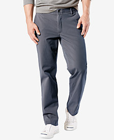Dockers Men's Downtime Straight Fit   Smart 360 FLEX Khaki Stretch Pants
